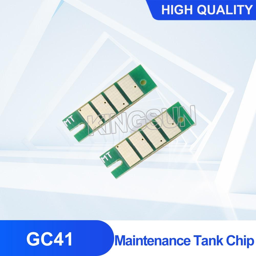 Фото - For Ricoh GC41 GC-41 Maintenance Tank Chip For Ricoh SG3100 SG2100 SG2100L SG2010L/ Aficio SG3110DNW SG2100N etc Waste Ink Tank ocbestjet maintenance tank resetter for