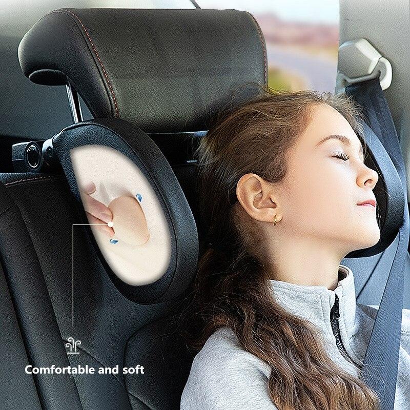 Nuevo diseño de cojín de descanso del cuello de la cabeza del coche para audi a1 bmw g30 peugeot 207 vw touran accesorios de coche mercedes w213 bmw f30