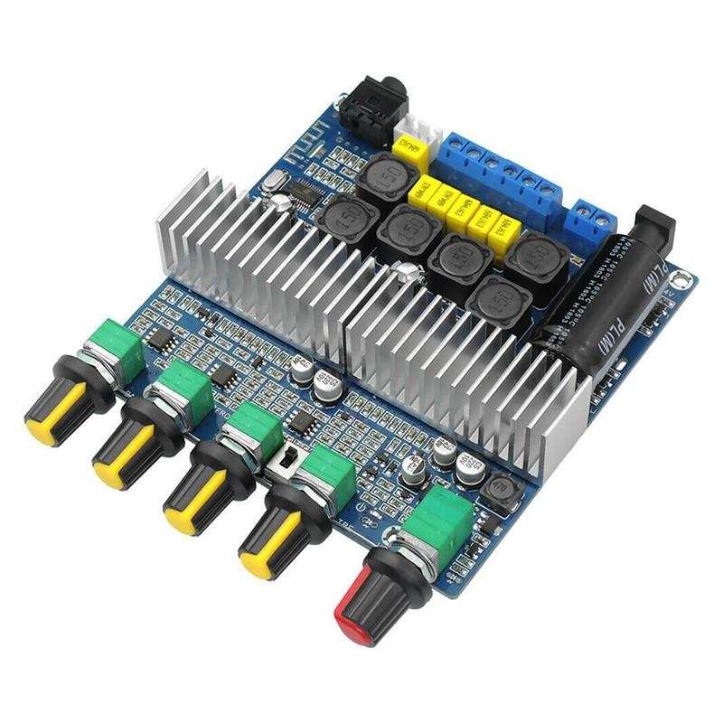 TPA3116D2 DC12V-24V Bluetooth 4.2 Subwoofer Audio Versterker Board 2.1 Channel Power 2X50W + 100W TPA3116 Amplificador