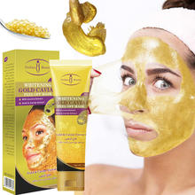 100g Gold Caviar Face Peeling Mask Tearing Mask Oil Control Blackhead Remover Skin Cleaner Face Mask