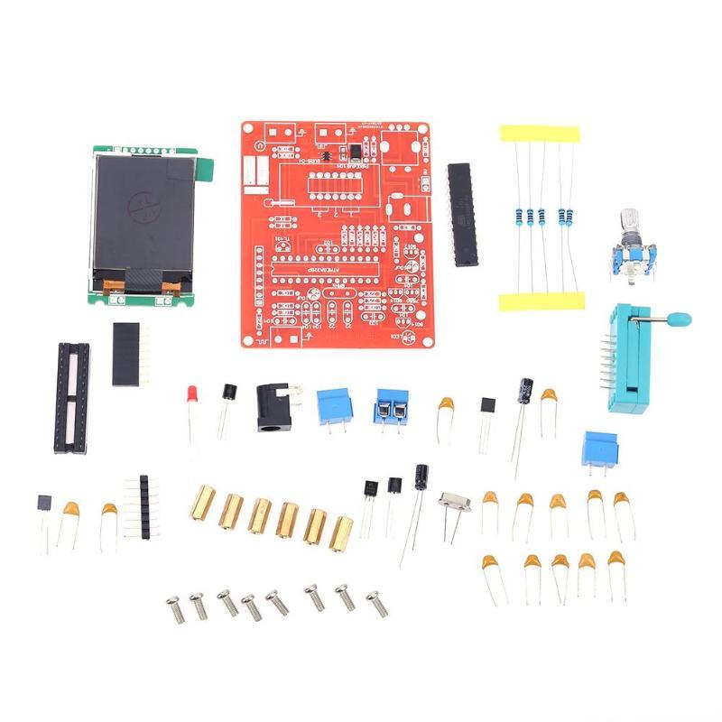Llegada GM328 probador de Transistor multifuncional LCD Digital medición de frecuencia PWM cuadrado onda DIY Kits de herramientas 160X128