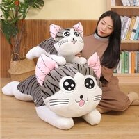 6 styles kitty cat plush toys chi chis cat stuffed doll soft animal dolls cheese cat stuffed toys dolls pillow cushion for kids