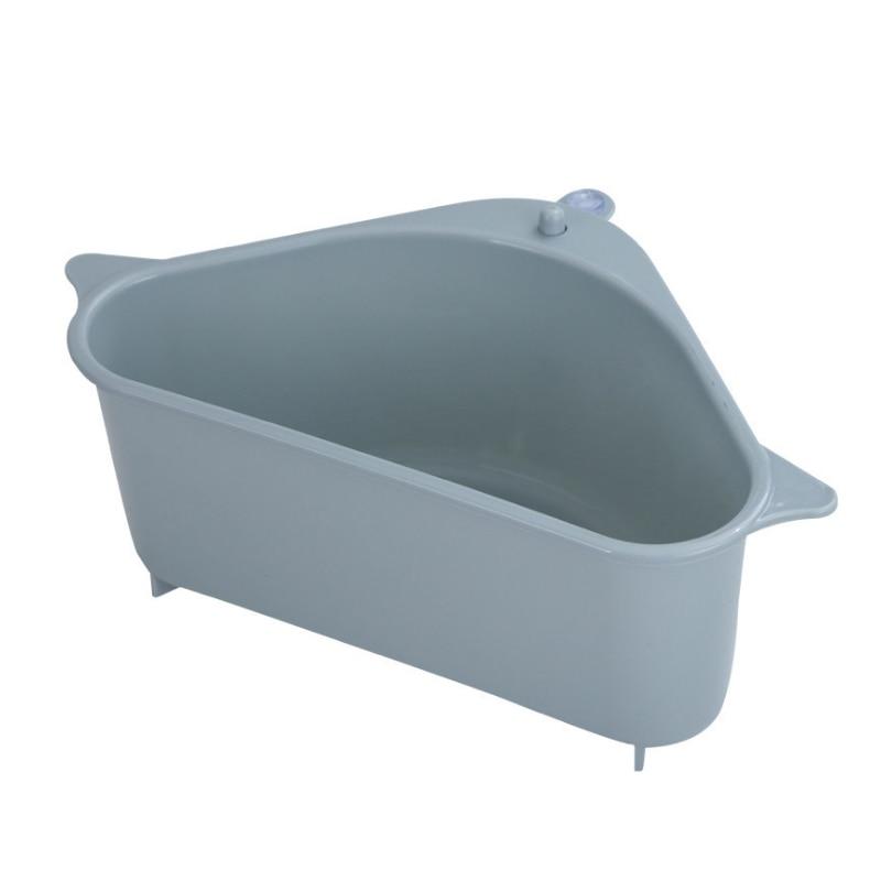 Rak rak sinki pelbagai fungsi, penyedut cawan sink sink bakul mangkuk - Organisasi dan penyimpanan di dalam rumah - Foto 2