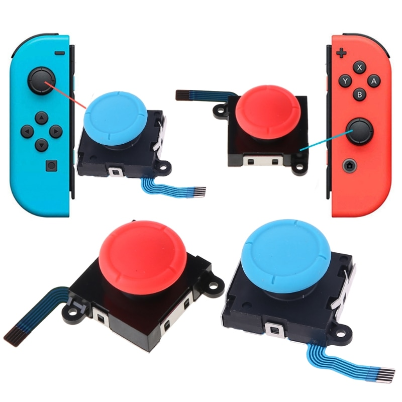 3D Analog Joystick Thumb Sticks Sensor Replacements for nintendo switch Joy Con Controller Repair Game Accessories for NX