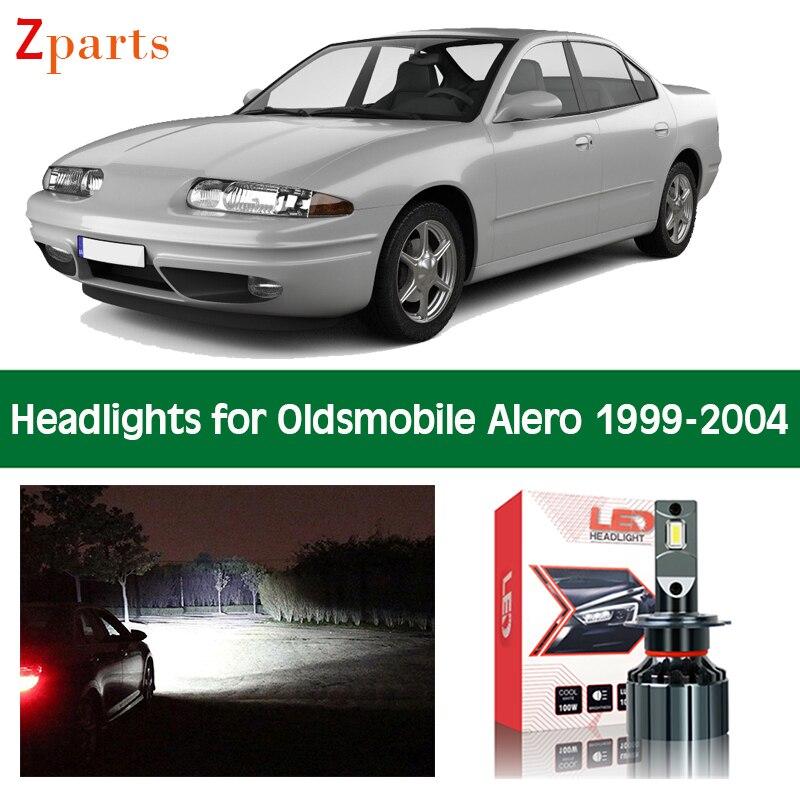 Автомобильные лампы для Oldsmobile Alero 1999 2000 2001 2002 2003 2004, светодиодсветильник фары ближнего и дальнего света, аксессуары для автомобильного освещ...