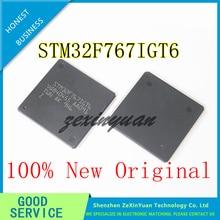 1PCS Neue orignal STM32F767IGT6 STM32F767 ARM IC MCU 32BIT 1MB FLASH LQFP-176 neue original lager