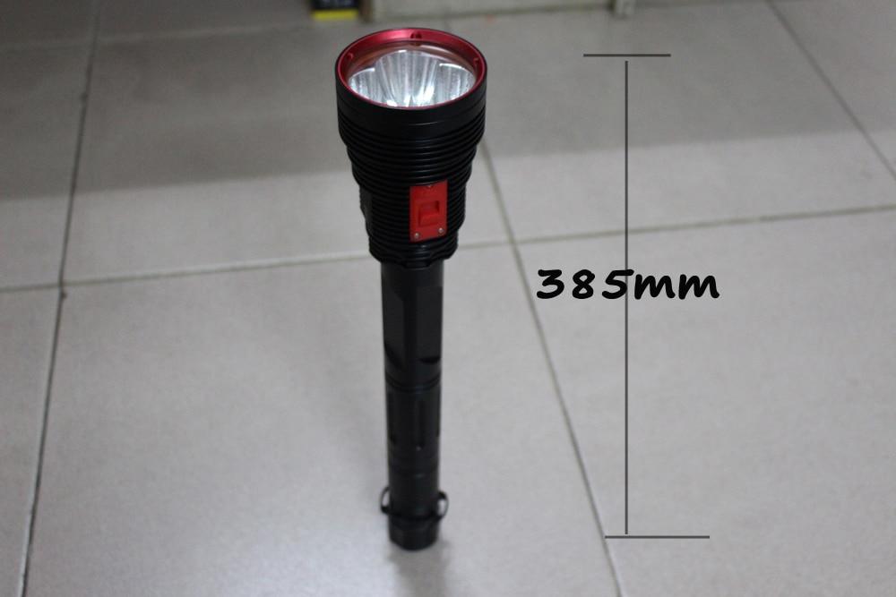 2019 new Super Brightness 4*XHP70 Waterproof 8000 Lumens Diving LED Flashlight Underwater 100M Tactical Torch Lamp enlarge