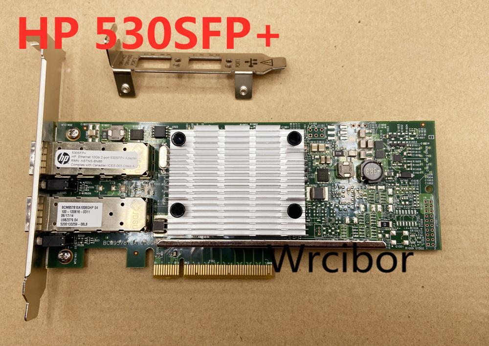 HP-محول إيثرنت مزدوج المنفذ ، 10 جيجابايت ، 530SFP ، 530SFP ، Bcm57810 ، 652503-B21 ، 656244-001 ، 652501-001