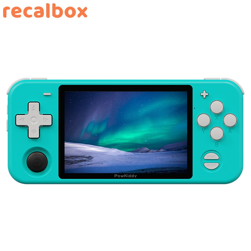 RGB10MAX  Retro Handheld Game Console For PSP N64 PS Game Player Double Joystick Open Source 3D Video MP4 Players enlarge