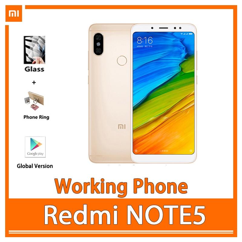 هاتف خلوي Redmi note 5 Full Netcom 4G للطلاب وكبار السن ، هاتف خلوي ، فتح الوجه ، بطارية 90 جديدة جيدة ، مستخدم