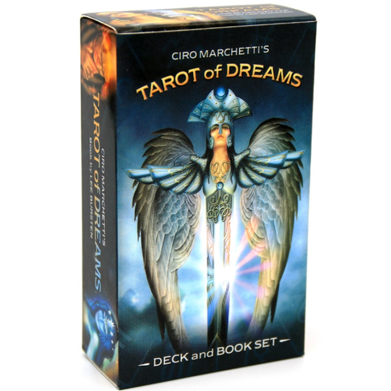 Tarot Of Dreams Oracle Cards Tarot Altar Divination Tarot Oracle Cards For Card Board Game Accessories kipper fortune telling deck altar divination tarot oracle cards for card board game accessories
