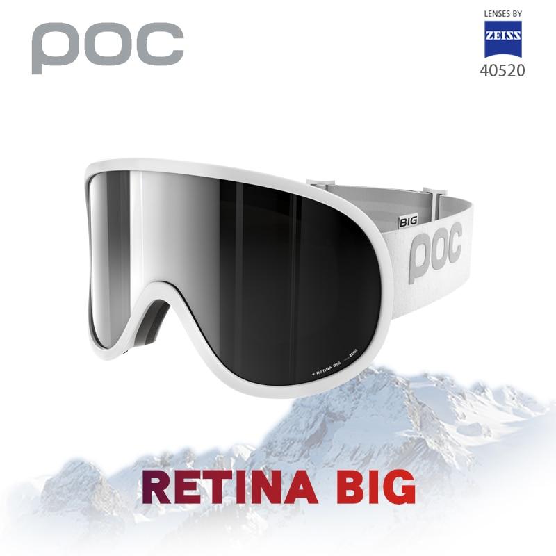 الأصلي POC ماركة الشبكية تزلج نظارات مزدوجة الطبقات مكافحة الضباب قناع للتزلج كبير نظارات التزلج الرجال النساء الثلوج على الجليد وضوح