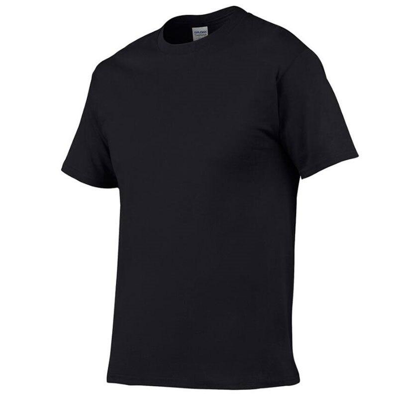 2019 New Solid color T Shirt Mens fashion 100% cotton T-shirts Summer Short sleeve Tee Boy Skate Tshirt Tops Plus size S-2XL