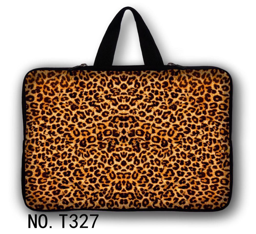 "Sexy Leopard 16 pulgadas 17 ""17,3"" neopreno Laptop funda bolsa cubierta + manija para Hp/Samsung/Sony/ASUS/Acer"