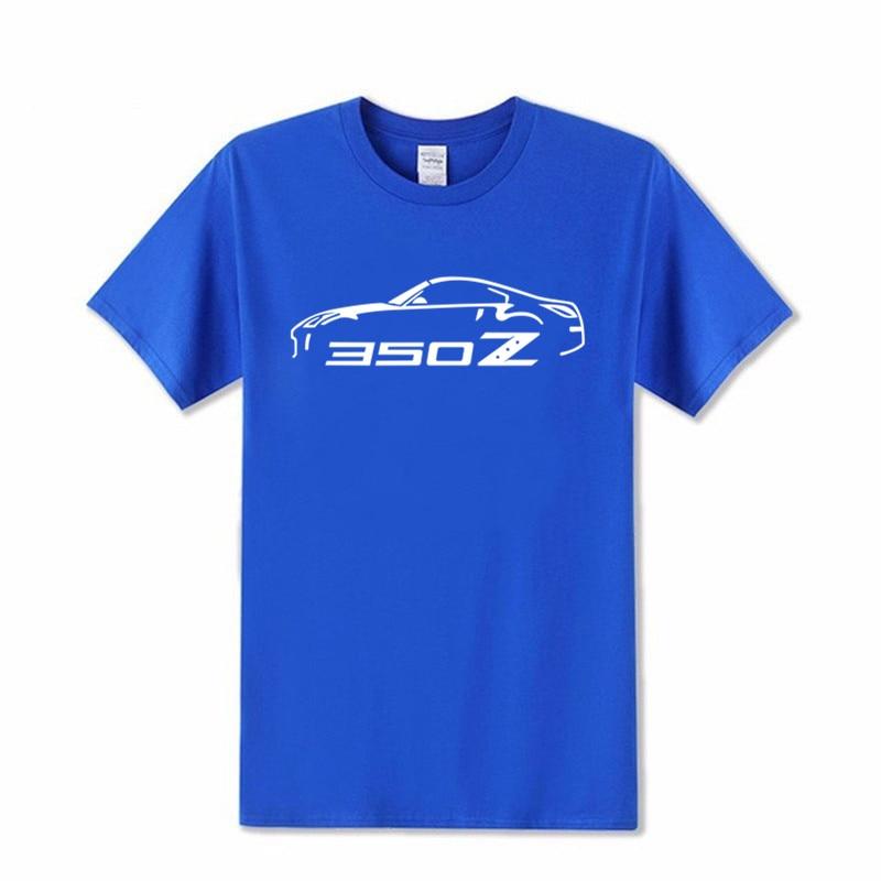 Camiseta de marca de moda para hombre, camiseta 2019 de algodón estampada, camisetas NISSAN 350Z con motivo de coche, XS-3XL, Envío Gratis, 100%