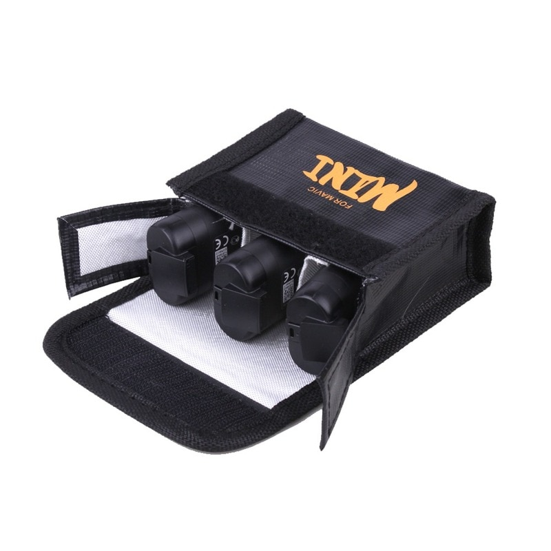 For DJI Mavic Mini Drone Battery Bag  Explosion-proof Battery Protective Case Safe Storage Bag for DJI Mavic Mini Accessories