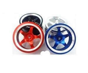 4Pcs RC Aluminum Alloy Metal Wheel Rim Offset For HPI HSP Sakura 1/10 Scale Model On-Road Remote Control Car Tires 94123 94122