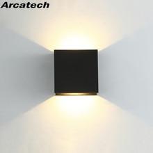 Lámpara LED de pared para interiores, candelabro de decoración moderna para el hogar, AC85-265V de aluminio para baño, pasillo y NR-180