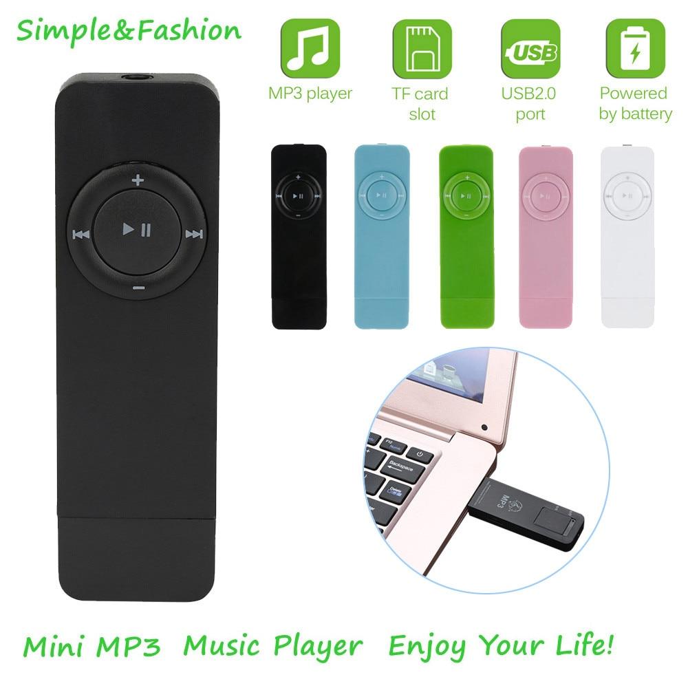 Faixa portátil esporte lossless som música mídia mp3 player suporte micro tf cartão design é conciso, requintado e elegante