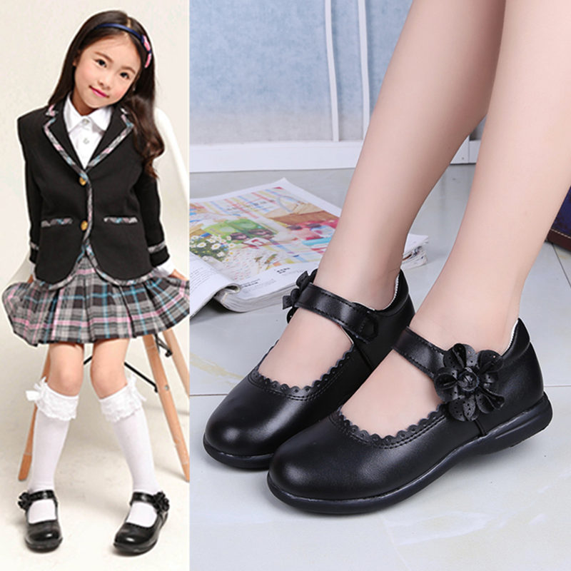 pink black red children girls shoes for kids student leather shoes school black dress shoes girls 4 5 6 7 8 9 10 11 12 13 14t Red pink White Black Childrens Girls Leather Shoes Girls Princess Shoes kids school student Dress Shoes 4 5 6 7 8 9 10 11 12-15T