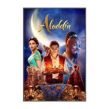 Aladdin-affiche Guy Ritchie   Will Smith, Mona Massoud, décor daffiche de film de Naomi Scott