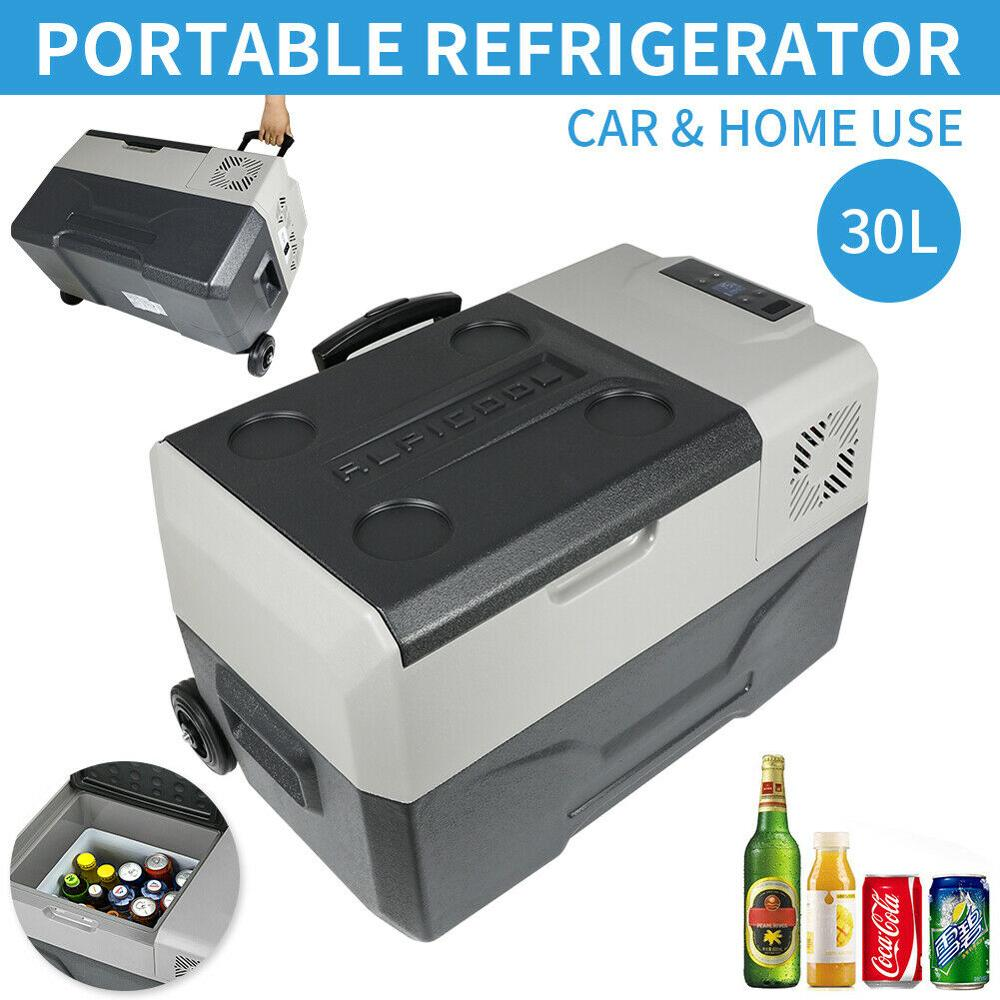 Refrigerador automático portátil de 30L, 12V/24V, Mini compresor de Nevera para coche,...