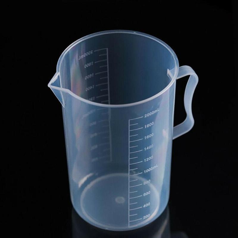 250/500/1000/2000 Ml Caño laboratorio de cocina con mango taza de medición jarra líquida de cocina jarra para venta duradera Caño herramienta de cocina