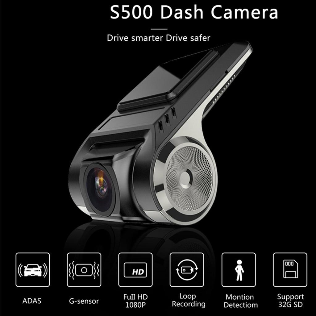 1080P DVR para coche con USB grabadora de conducción cámara HD 1080P VERSIÓN NOCTURNA 170 ancho ángulo de conducción cámara grabadora Вождение рекордер