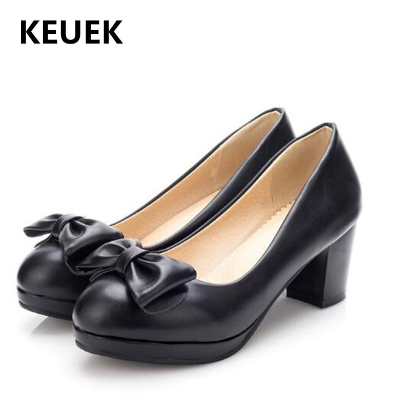 حذاء أميرة للأطفال بكعب عالٍ ، حذاء موكاسين مريح بفيونكة ، 02C