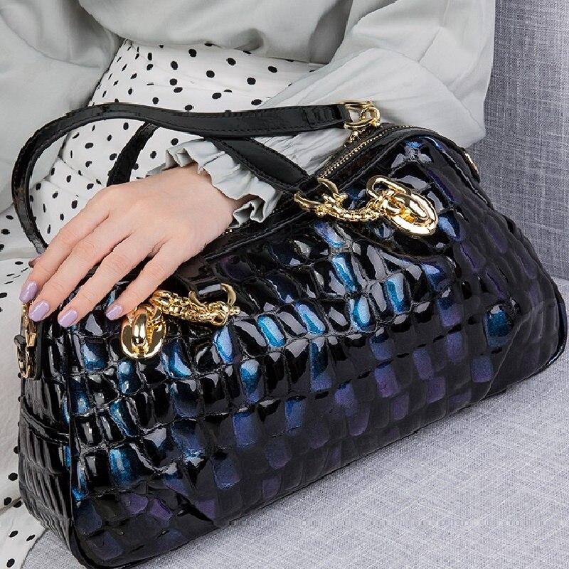 الأسهم القادمة! ZOOLER-حقائب يد جلدية أصلية للنساء ، حقيبة كتف ، عصرية ، # WP132