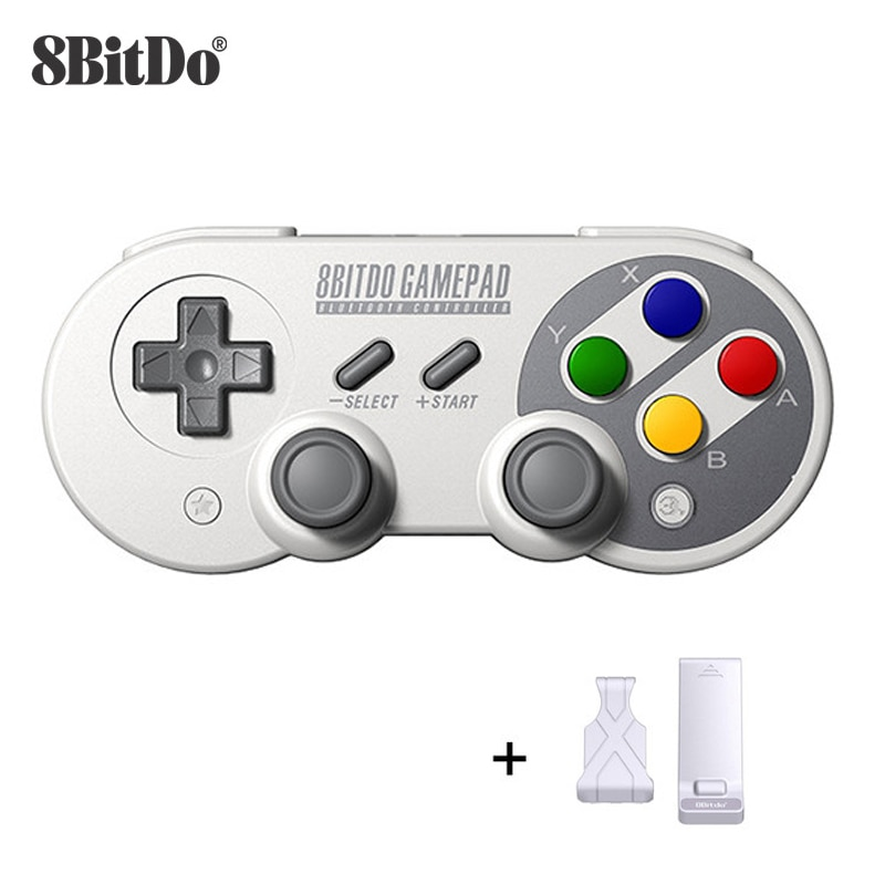 8BitDo SF30 Pro SN30 Pro Wireless Bluetooth Gamepad Controller with Joystick for Windows Android mac