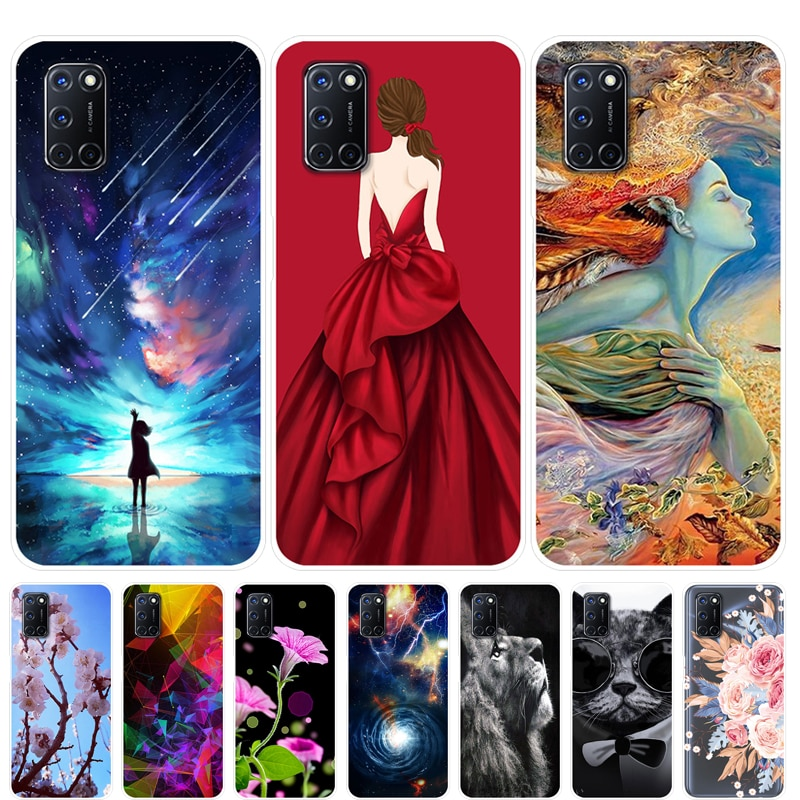 OPPO A92 Case Silicone Soft Back Cover Phone Case For OPPO A92 A 92 OPPOA92 Case Protective 6.5 inch