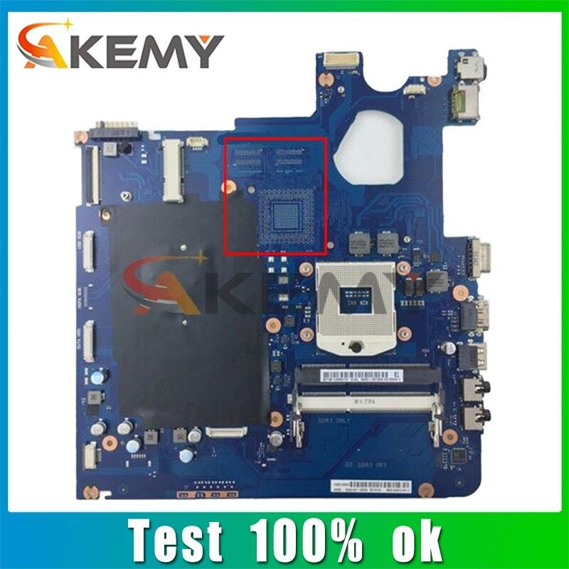 AKEMY BA92-10501B BA92-10501A BA41-01976A BA41-01979A لسامسونج NP300E5C اللوحة المحمول DDR3 اختبار كامل