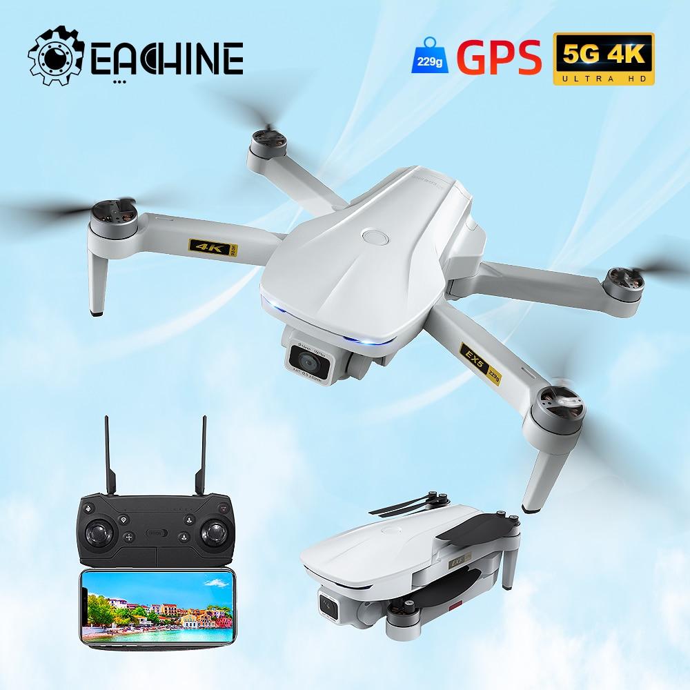Eachine EX5 الطائرة بدون طيار 229g أجهزة الاستقبال عن بعد 4K لتحديد المواقع HD كاميرا صغيرة المهنية مع 5G واي فاي 1000 متر المسافة طائرة بدون طيار FPV Dron ال...