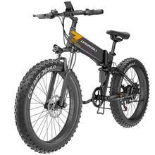 Vélo électrique de gros pneu de montagne 48V batterie au Lithium vélo électrique électromobile de vitesse Variable dalliage daluminium