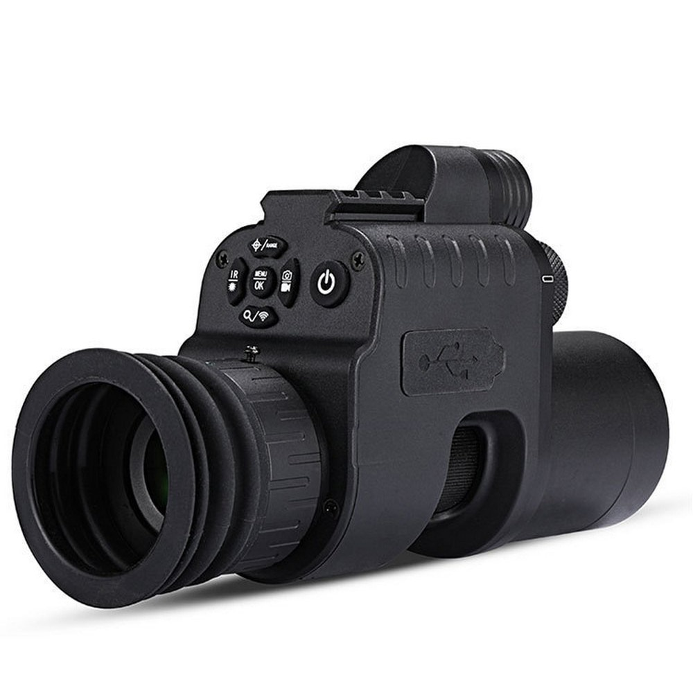 PORD الأشعة تحت الحمراء للرؤية الليلية ريد دوت نطاق الصيد العسكرية للرؤية الليلية واي فاي كاميرا بندقية مرآة الأشعة تحت الحمراء للرؤية الليلي...