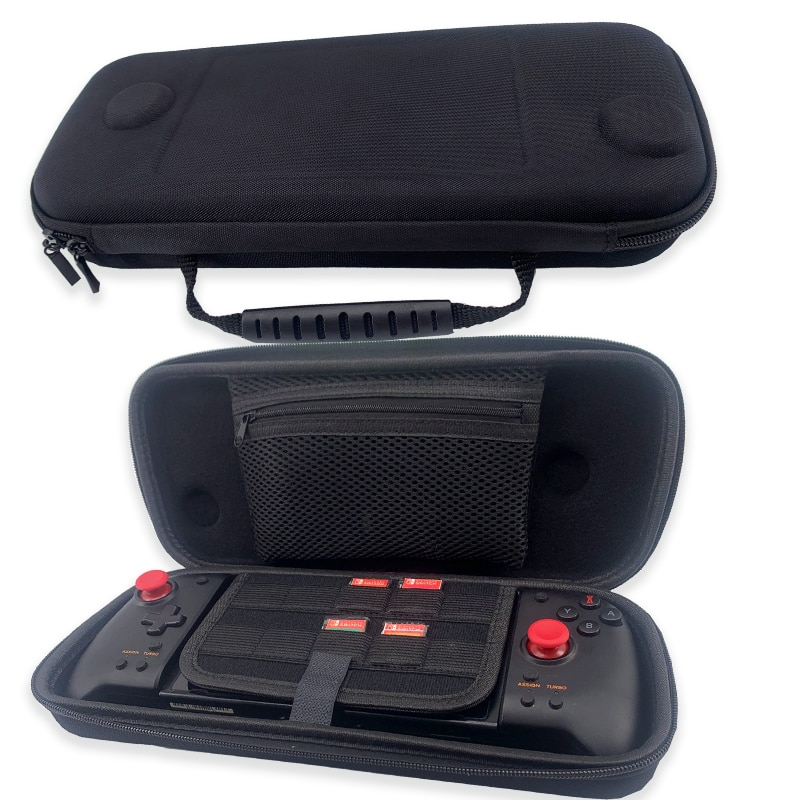 Carry Case for Hori Nintendo Switch Split Pad Pro Controller and ButterFox Dockable Grip