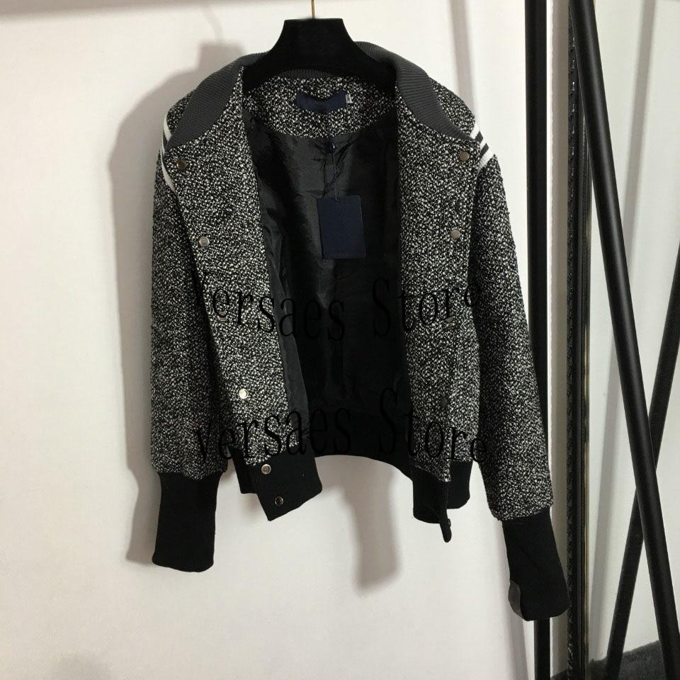 2021 Luxury Design Women's child mother single breasted coat fashion wool tweed long sleeve coat temperament women's jacket enlarge