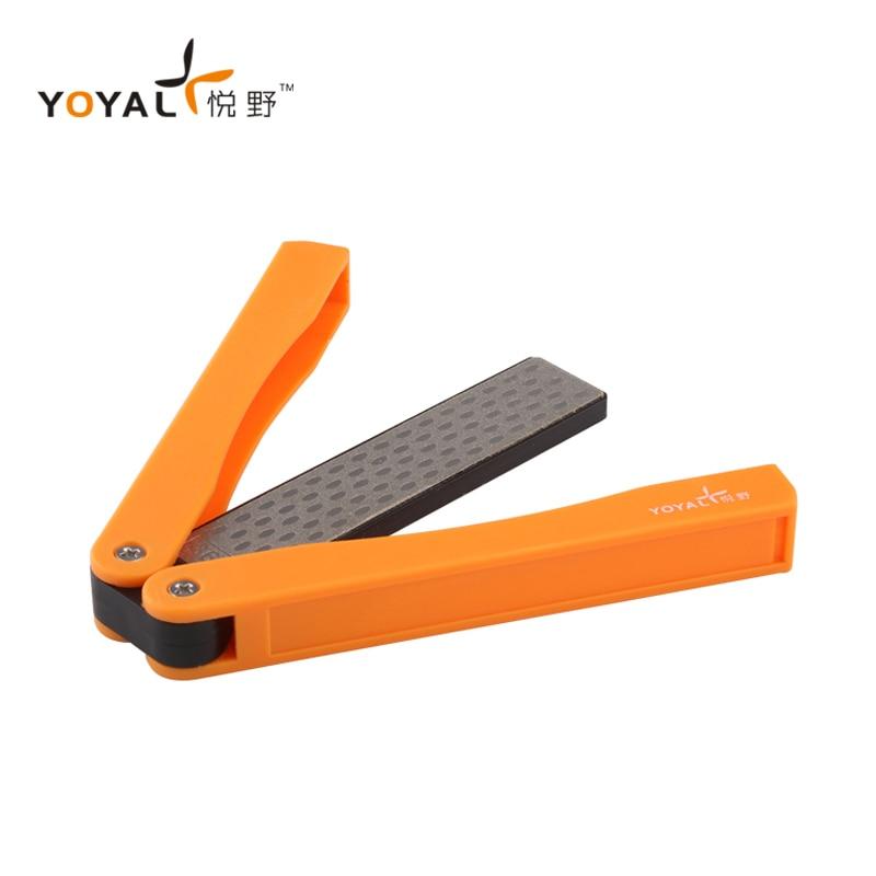 YOYAL, Mini afilador de cuchillos profesional para exteriores, 360 #600 #, afilador de cuchillos, cuchillas de diamante, máquinas, sistema de molienda TAIDEA