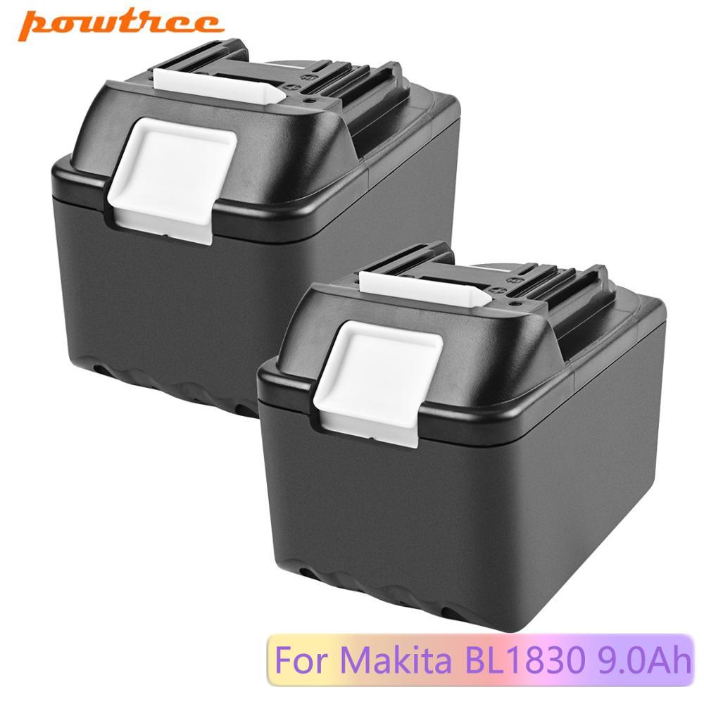 Powtree 18В 9000 мАч Замена для Makita BL1815 BL1820 BL1830 18В LXT литий-ионный аккумуляторный аккумулятор