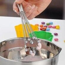 Batteur à œufs mélangeur outils de cuisine   Boule en acier inoxydable à la main, fil de fouet, perles de verre multifonctions, mélangeur outils de cuisine, outils pratiques, tenir