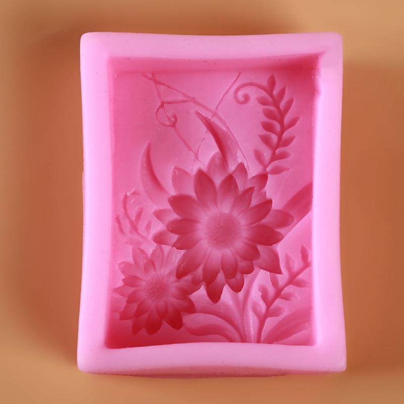 Gros bricolage artisanat à la main savon moule savon faisant moule de qualité alimentaire silicone africain éléphant modèle forme carrée