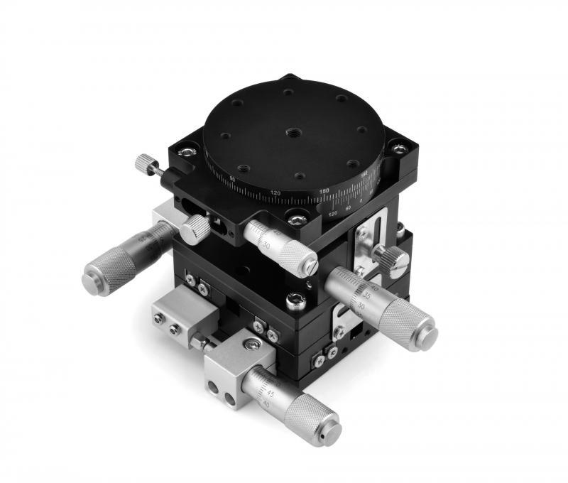 LT60-LM/LT60-RM محور التشذيب منصة منصة خطية يدوية تحمل ضبط انزلاق الجدول لدقة الحركة خفيفة الوزن