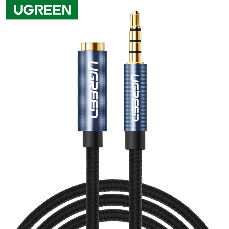 Ugreen de Audio de 3,5mm Cable de extensión Jack 3,5 macho a...