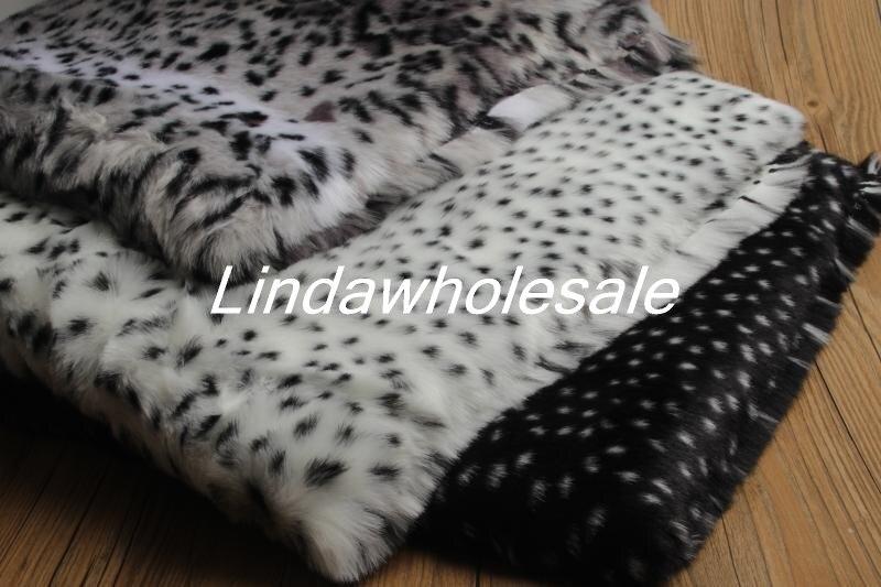 High-end-tiger zebra muster tier leopard plüsch stoff faux pelz stoff, cosplay dekorative material, 160x50 cm/stücke
