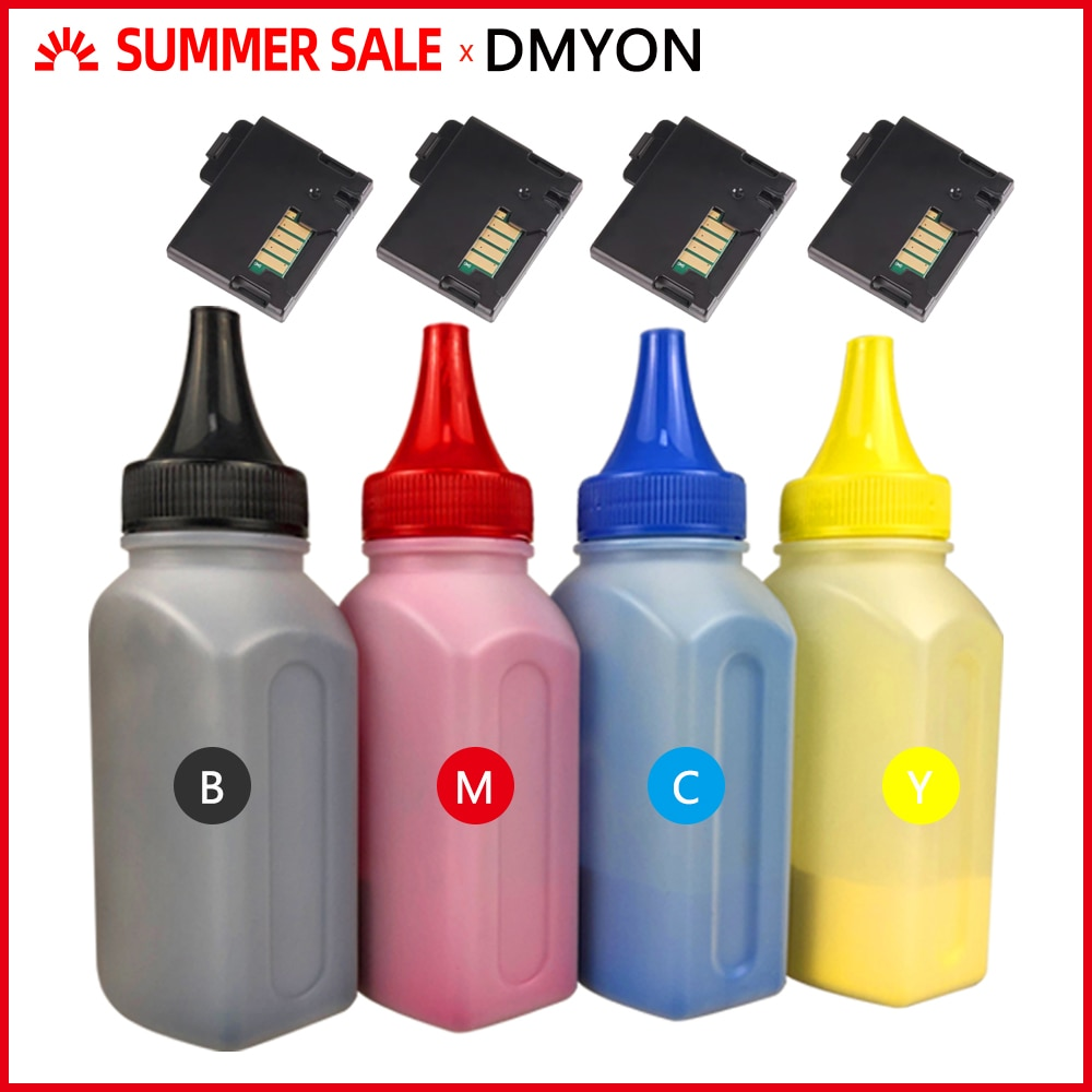 DMYON 4 en bouteille EA poudre de Toner 4 puce Compatible pour Xerox Phaser 6000 6000B 6010 Workcentre 6015 6015v cartouche dimprimante