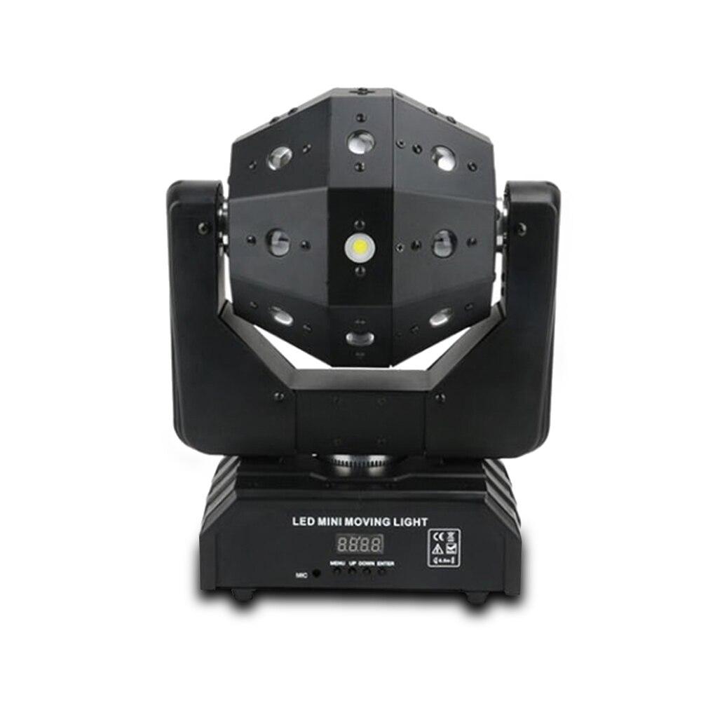 Luz láser dj dmx512 barra de control de sonido efecto iluminación led cabeza móvil Luz de escenario