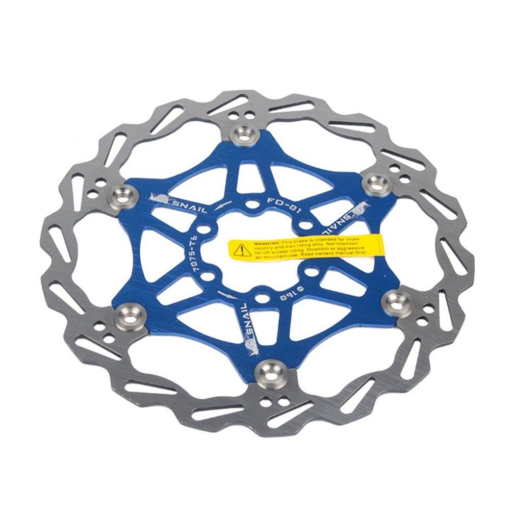 Freno de disco de bicicleta MTB DH freno flotante rotores de disco 180mm pastilla de freno hidráulico rotores de flotador piezas de bicicleta
