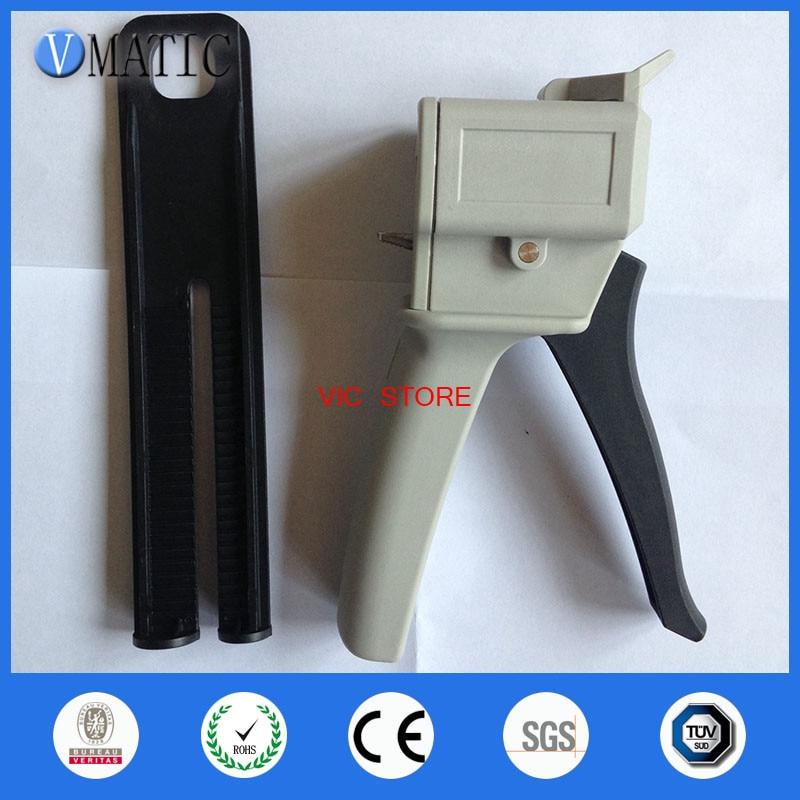 Envío Gratis 11/21 Ratio dispensador de mezcla de impresión Dental pistola dispensadora de pegamento 50ml 50cc pistola de calafateo AB