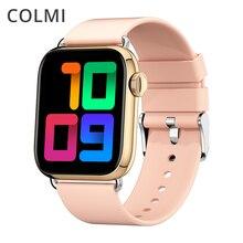 COLMI P16 2021 1.69 inch Smart Watch nRF52840 New Blood Oxygen Sensor IP68 Waterproof Fitness Tracke